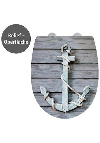 WENKO WC - Sitz, »Rope mit Relief«, (1 - tlg.) kaufen