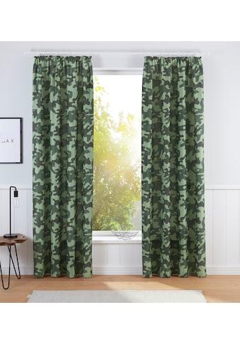 Bruno Banani Vorhang »Camouflage« kaufen
