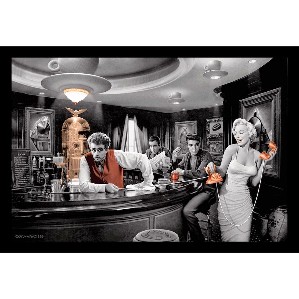 my home Bild mit Rahmen »C. CONSANI / Java Dreams (BW+color)«, (1 St.)