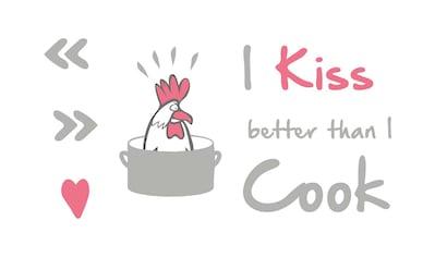KOMAR Packung: Wandtattoo »I kiss better than….«, 9 - teilig kaufen