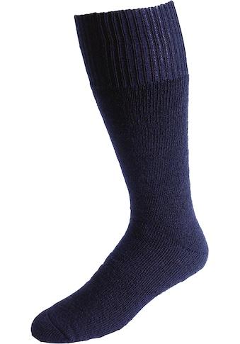 Socken »Vollplüsch«, (Set, 2 Paar), marine kaufen