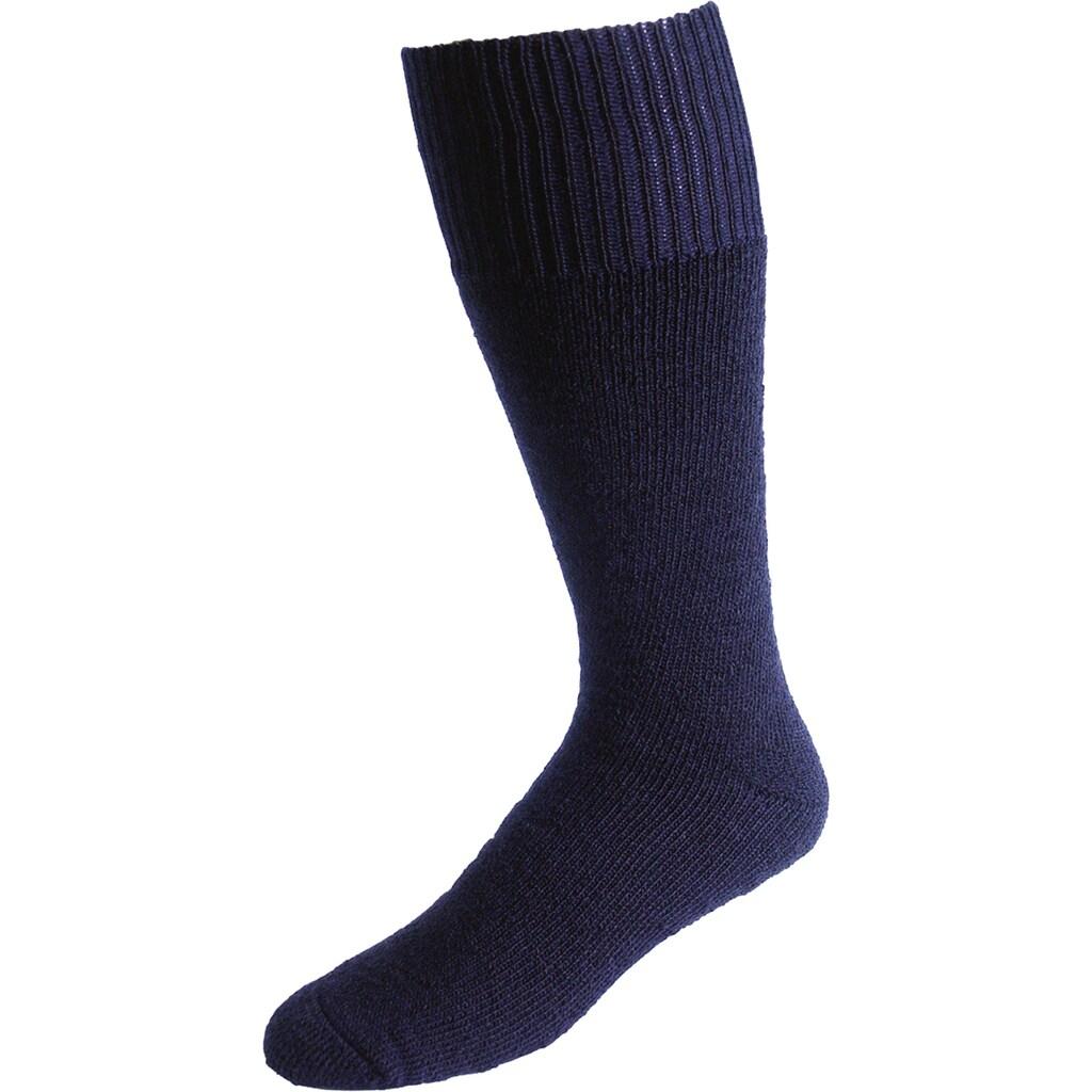 Socken »Vollplüsch«, (Set, 2 Paar), marine