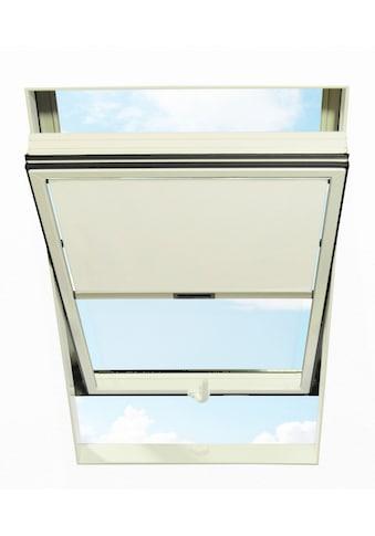 RORO TÜREN & FENSTER Sichtschutzrollo BxL: 114x118 cm, weiß kaufen