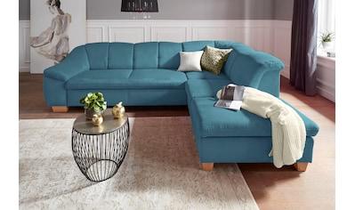 sit&more Ecksofa, mit Federkern, wahlweise mit Bettfunktion und Stauraum kaufen
