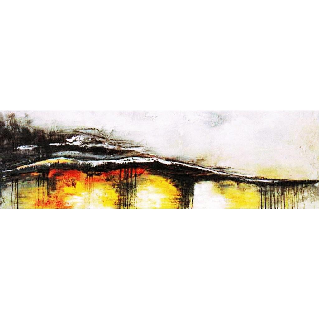 my home Gemälde »Welle«, (120/3,5/40 cm)