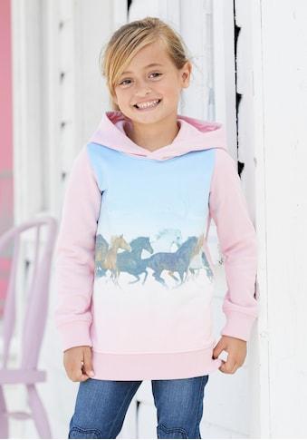 KIDSWORLD Longsweatshirt, mit Pferdedruck kaufen