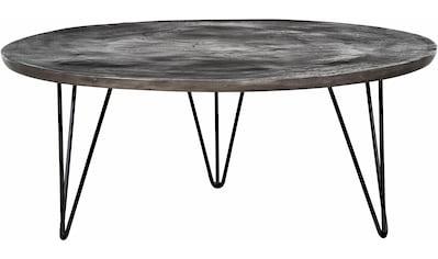 Gutmann Factory Couchtisch, mit runder Tischplatte aus Aluminium kaufen