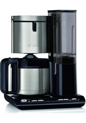 BOSCH Filterkaffeemaschine »TKA8A683 Styline«, Papierfilter, 1x4, mit Thermokanne kaufen