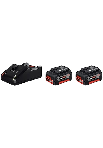 BOSCH PROFESSIONAL Akku - Set »GAL 18V - 40 / GBA 18V 4.0Ah«, 18 V, 4 Ah, inkl. 2 Akkus und Ladegerät kaufen