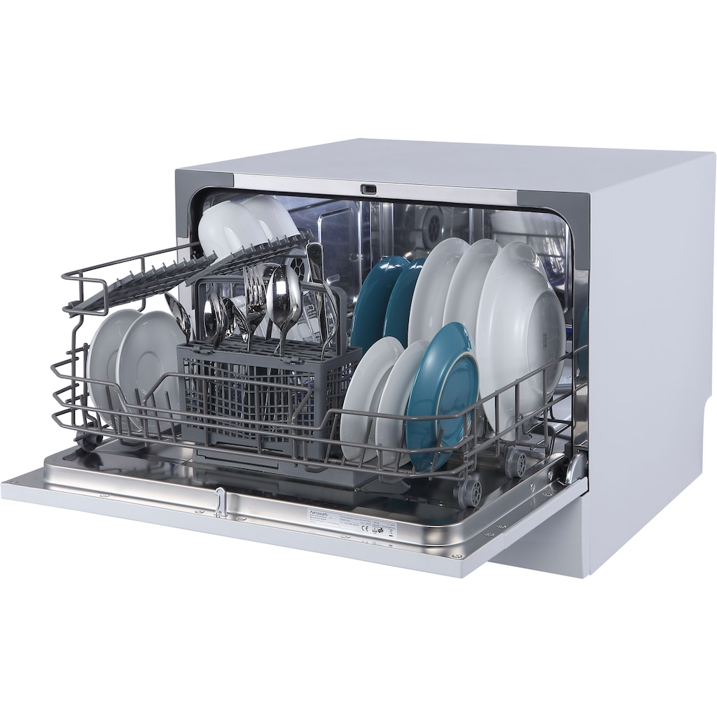 Hanseatic Tischgeschirrspüler »HG5544F63602EW«, HG5544F63602EW, 6 Maßgedecke