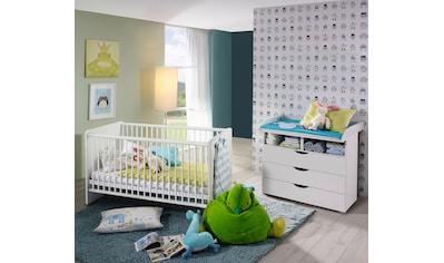 rauch BLUE Babymöbel-Set »Bristol«, (Spar-Set, 2 St.), Bett + Wickelkommode kaufen