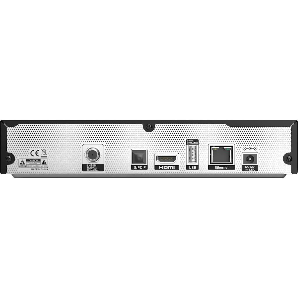 Sky Vision Satellitenreceiver »UHD 3000 HD+ Digitaler UHD«, (LAN (Ethernet) USB PVR Ready-EPG (elektronische Programmzeitschrift)