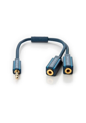 Clicktronic MP3 Y-Adapter kaufen