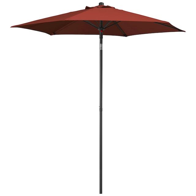 GARTEN GUT Sonnenschirm »Push up Schirm Rom«