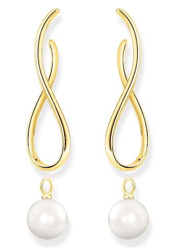 THOMAS SABO Paar Ohrstecker »Heritage mit Perle gold, H2099 - 413 - 39« kaufen