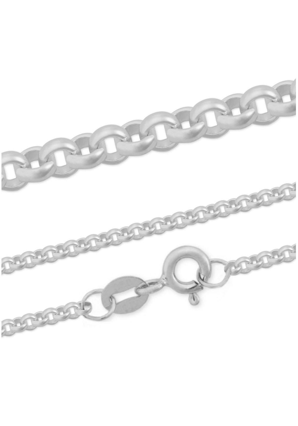 Firetti Silberkette »Erbskette, glanz, rhodiniert, massiv« | Schmuck > Halsketten > Silberketten | Firetti