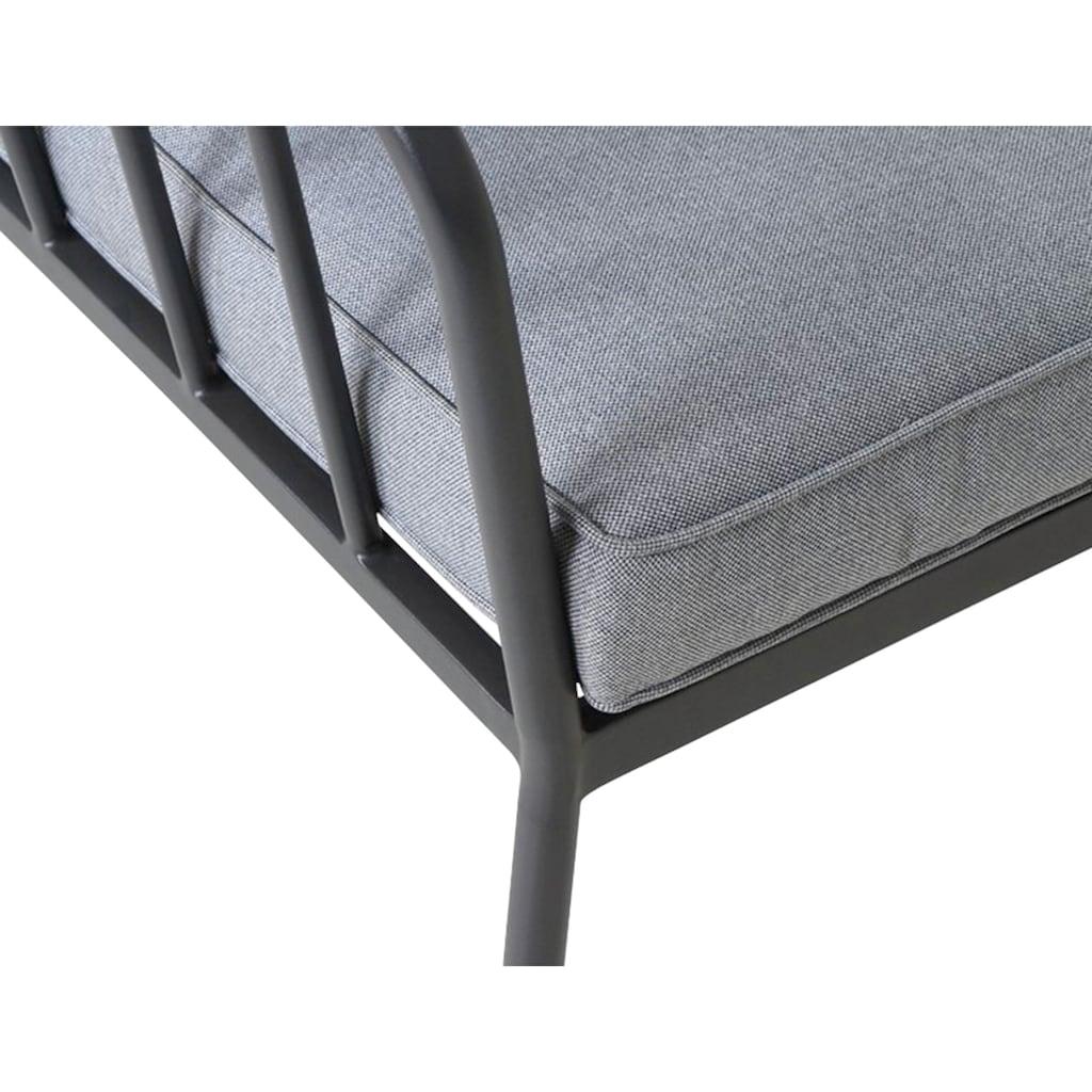 Siena Garden Loungeset »Casita«, (1x 2er-Sofa, 2x Sessel, 1x Tisch)