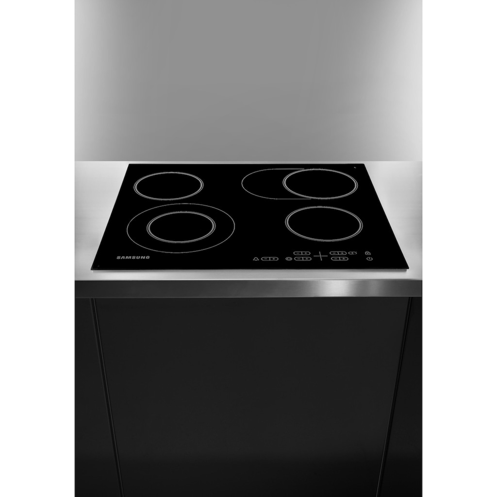 Samsung Elektro-Kochfeld, NZ64H25568K, mit Gartimer