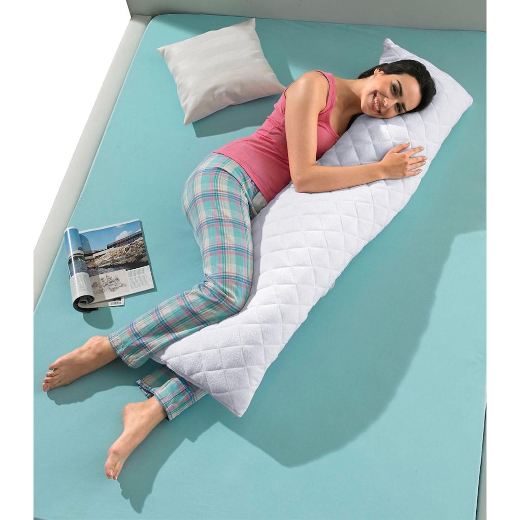 fan Schlafkomfort Exklusiv Seitenschläferkissen, (1 tlg.), kochfestes Seitenschläfer-/Stillkissen