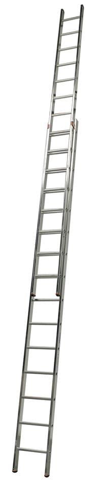 KRAUSE Schiebeleiter »Fabilo«, zweiteilig   Baumarkt > Leitern und Treppen > Schiebeleiter   Silberfarben   Aluminium   KRAUSE