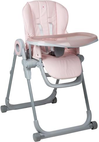 BabyGo Hochstuhl »Divan, pink«, platzsparend zusammenklappbar kaufen