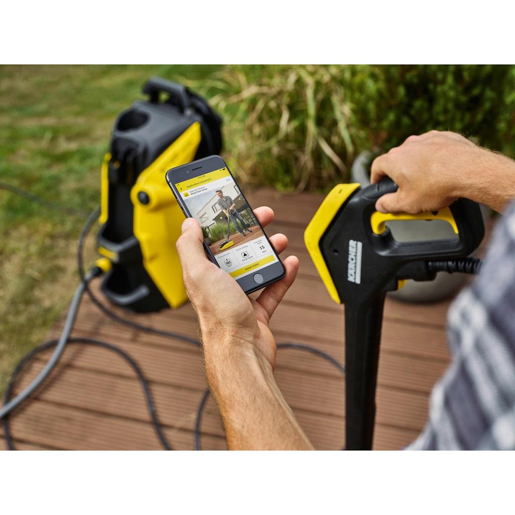 KÄRCHER Hochdruckreiniger »K 7 Premium Smart Control Home«, G 180 Q Smart Control-Pistole, 3-in-1-Multi Jet-Strahlrohr, Schlauchtrommel. Inkl. Home Kit