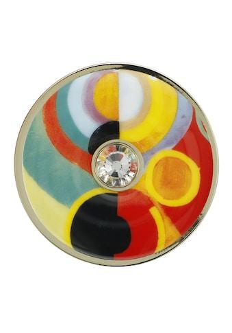 Goebel Brosche »Lebensfreude, Robert Delaunay, 67045261«, mit Glasstein kaufen
