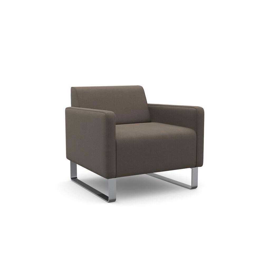 machalke® Sessel »single«, mit Metallkufen