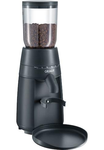 Graef Kaffeemühle »CM 702«, 128 W, Kegelmahlwerk, 250 g Bohnenbehälter kaufen