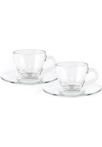 BIALETTI Cappuccinotasse, (Set, 4 tlg.), 2 Tassen, 2 Untertassen kaufen