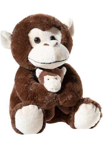 Heunec® Kuscheltier »Affe mit Baby, 25 cm« kaufen