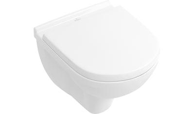 VILLEROY & BOCH Tiefspül - WC »O.novo«, Compact, wandhängend Weiß Alpin kaufen