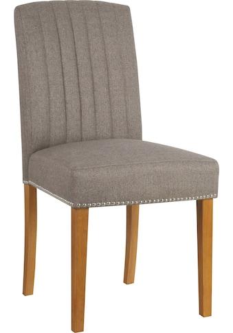 Home affaire Esszimmerstuhl »Jaik«, 2er-Set, mit gepolsteter Sitzfläche kaufen