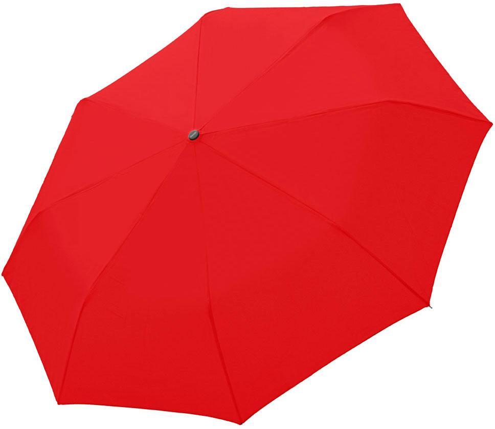 doppler® Regenschirm - Taschenschirm, »Fiber Magic Uni, Red«   Accessoires > Regenschirme > Taschenschirme   Rot   DOPPLER