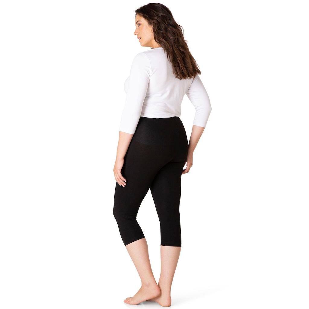 BSIC by Yesta 3/4-Leggings »Audrey«, Mit elastischem Bund