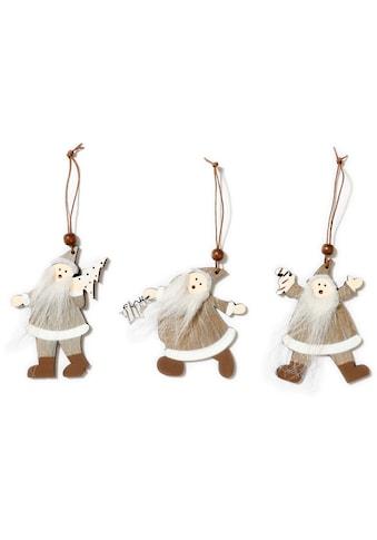 CHRISTMAS GOODS by Inge Dekohänger »Santa« (Set, 9 Stück) kaufen