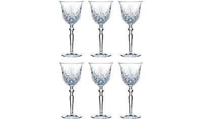 Guido Maria Kretschmer Home&Living Weißweinglas »Palais«, (Set, 6 tlg.), Guidos Favorit, Kristallglas, 213 ml kaufen