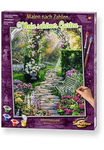 Schipper Malen nach Zahlen »Meisterklasse Premium - Mein schöner Garten«, Made in Germany kaufen