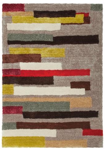 Hochflor - Teppich, »Dance 8104«, Arte Espina, rechteckig, Höhe 30 mm, maschinell gewebt kaufen