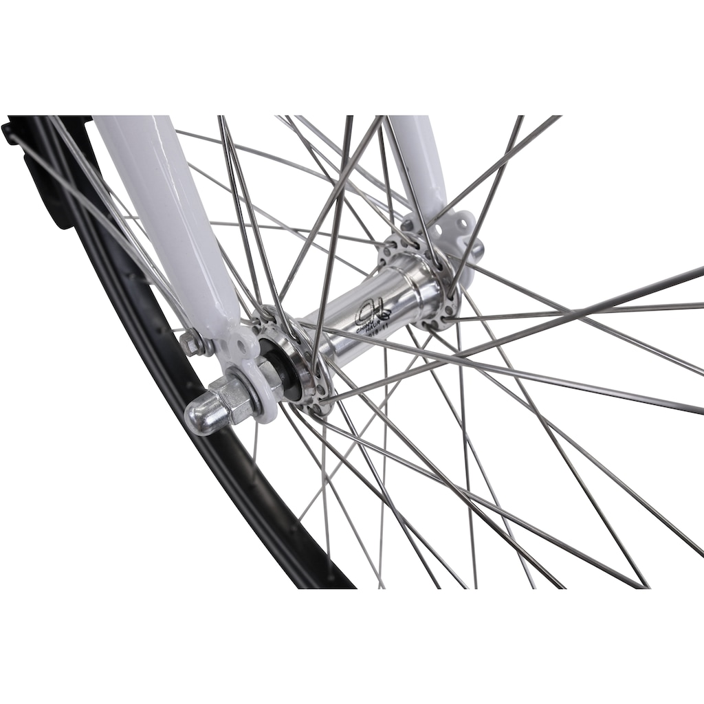 HAWK Bikes Cityrad »HAWK City Wave Premium White«, 3 Gang, Shimano, Nexus Schaltwerk