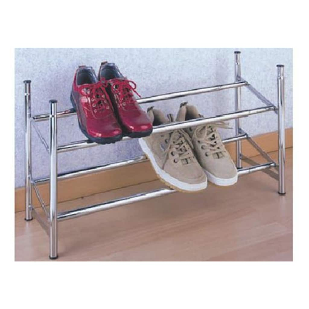 WENKO Schuhregal, ausziehbar