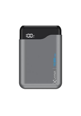 XLAYER Zusatzakku »Powerbank Micro PRO Space Grey 10000mAh Smartphone« kaufen