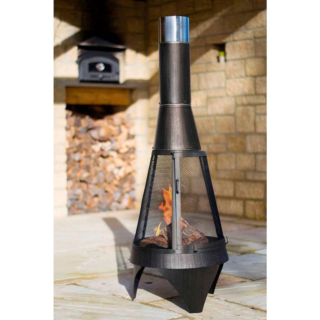 Buschbeck Feuerstelle »Colorado Mesh 160«, ØxH: 60x160 cm