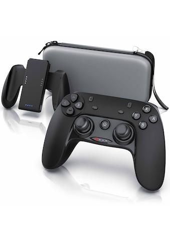 CSL Zubehör Set für Nintendo Switch  -  Controller, Ladegriff, Tasche »Gamepad, Ladehalterung, Case« kaufen