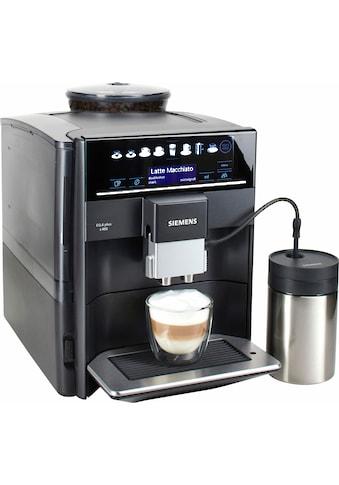 SIEMENS Kaffeevollautomat »EQ.6 plus s400 TE654509DE«, automatische Reinigung, 2 individuelle Profile, inkl. Milchbehälter im Wert von UVP 49,90 kaufen