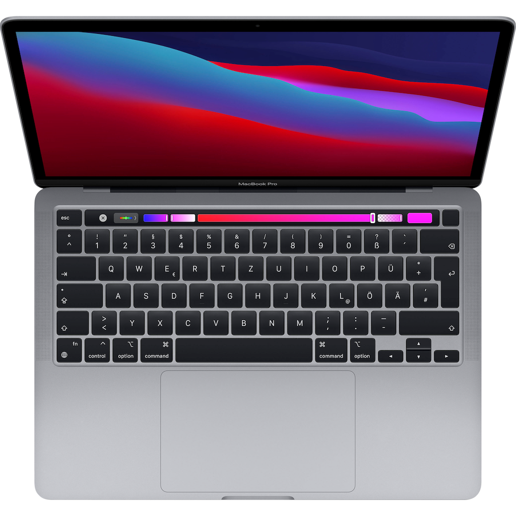 """Apple Notebook »MacBook Pro«, (33,78 cm/13,3 """" Apple M1 M1\r\n 1000 GB SSD)"""