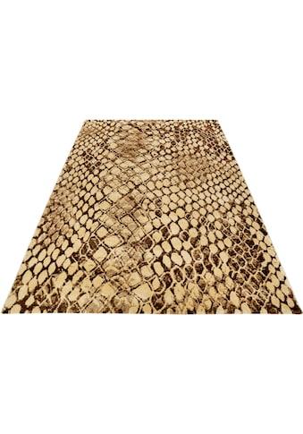 Wecon home Teppich »Snake«, rechteckig, 8 mm Höhe, Wohnzimmer kaufen
