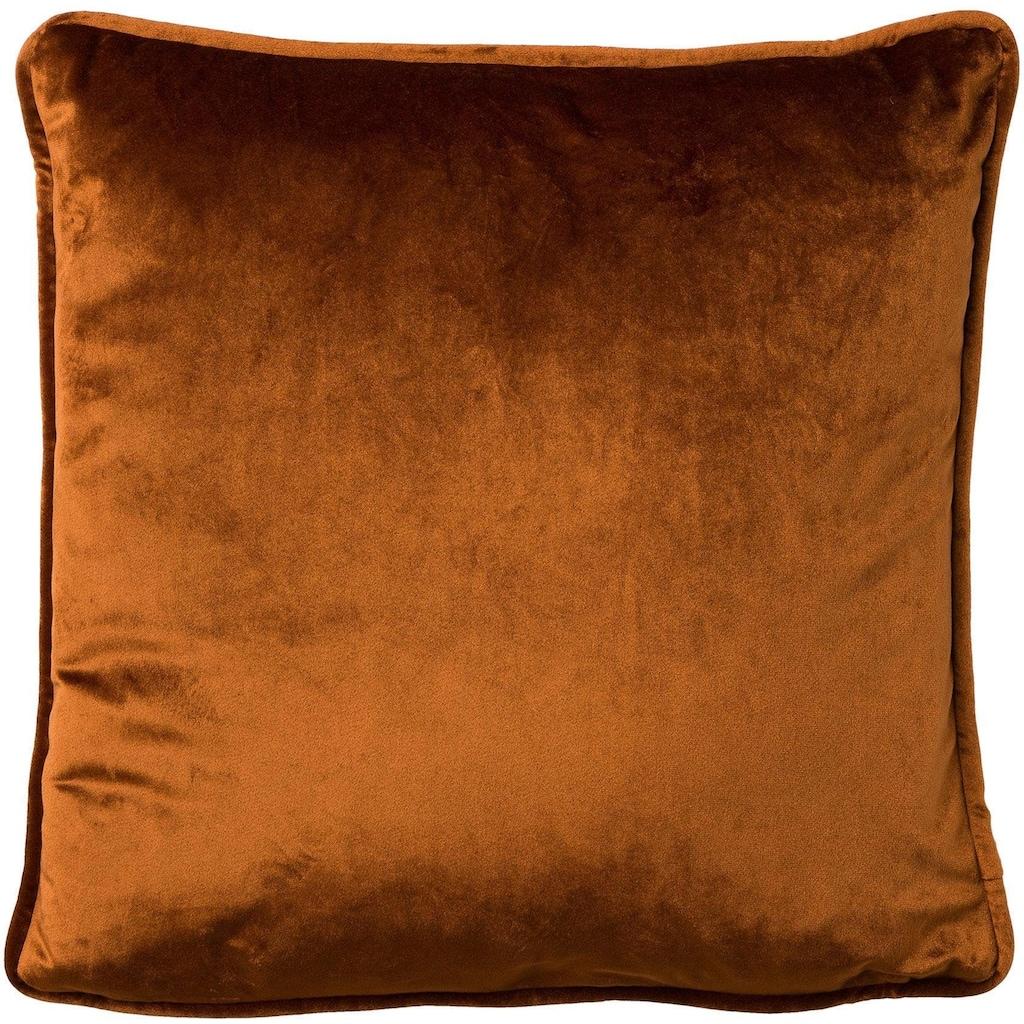Dekokissen »Samt-Kissen«, 45/45 cm, unifarben