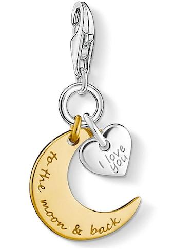 THOMAS SABO Charm-Einhänger »I LOVE YOU TO THE MOON & BACK, 1443-413-39« kaufen