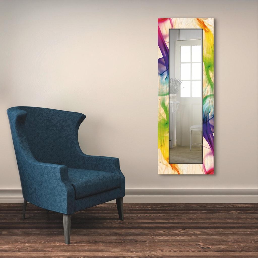 Artland Wandspiegel »Rauch - Abstrakt«